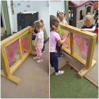 painting screen